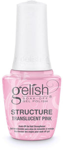 Gelish Translucent Pink Brush-On Structure Gel