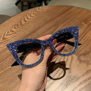 Bling Cat Eye Sunglasses