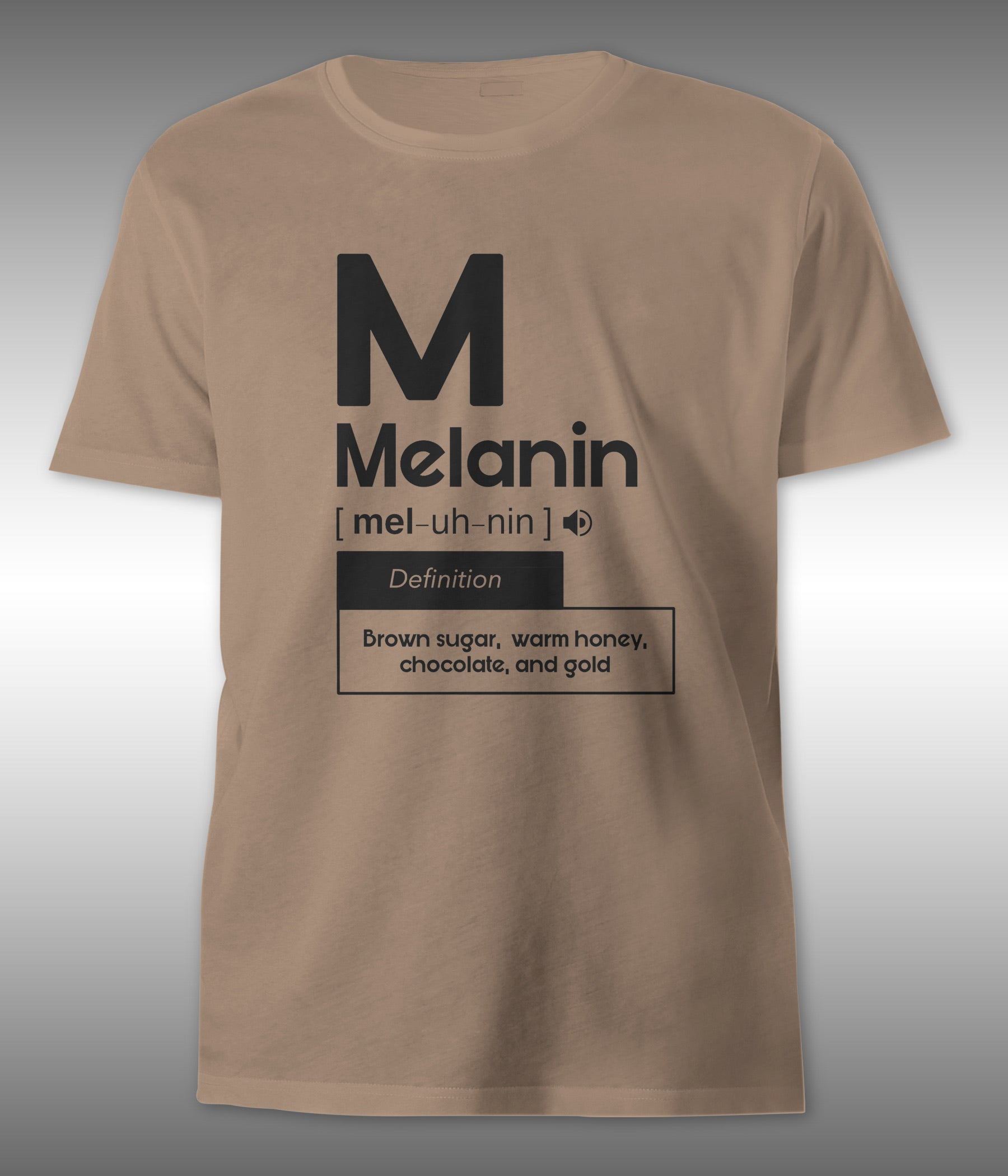'M is for Melanin' Tee