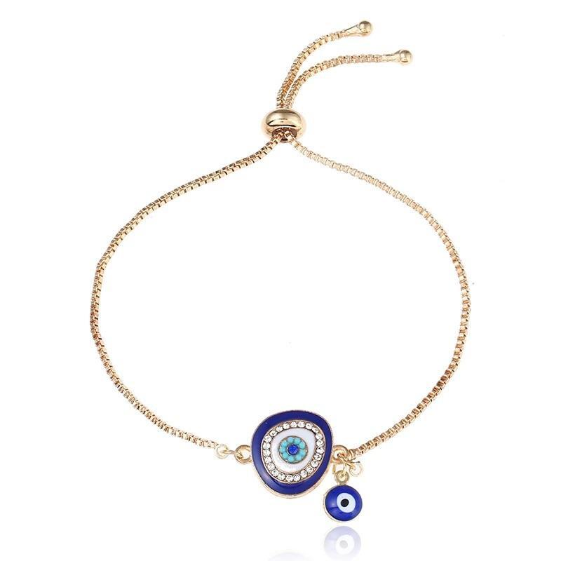 Lucky Eye Turkish Adjustable Bracelet - OzMe.com.au