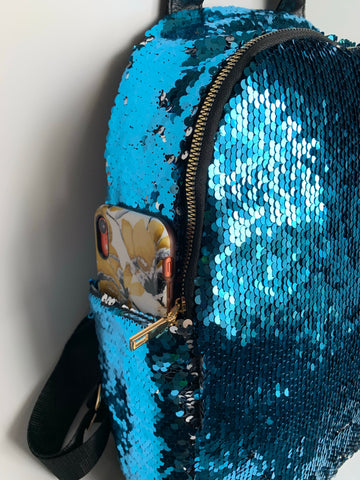 Reversible Sequined Mermaid Sak