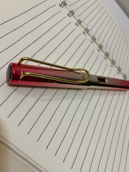 The Scholar's Metallic Fountain Pen (Ink not included)
