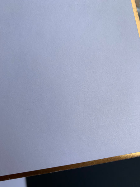 Satin and Gold Envelope