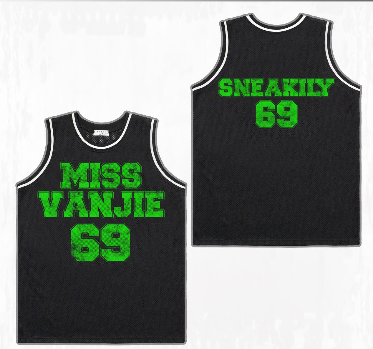 *New* Miss Vanjie's Sneakily 69 Jersey