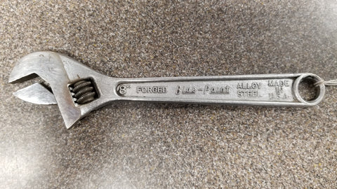 "Blue Point 8"" adjustable wrench - Chris's Pawn LLC"