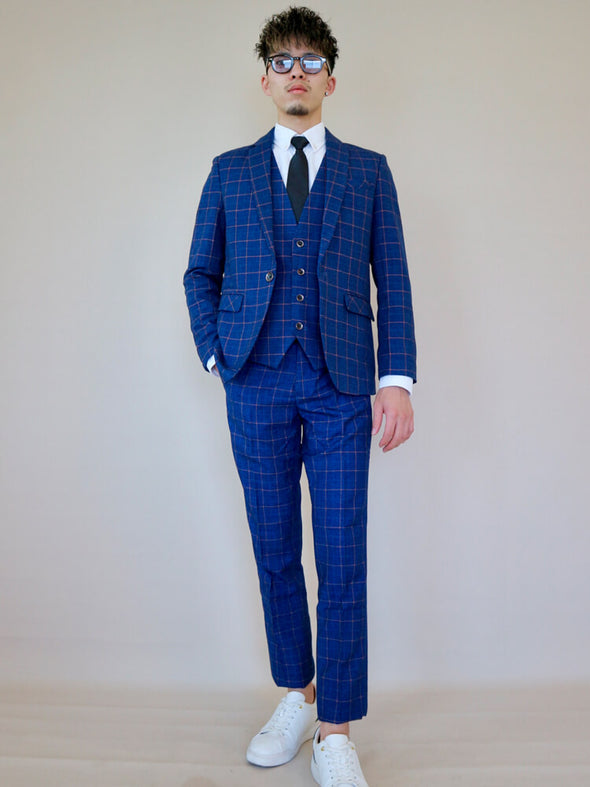 Plaid SUIT SETUP Vel109 - Velmmo