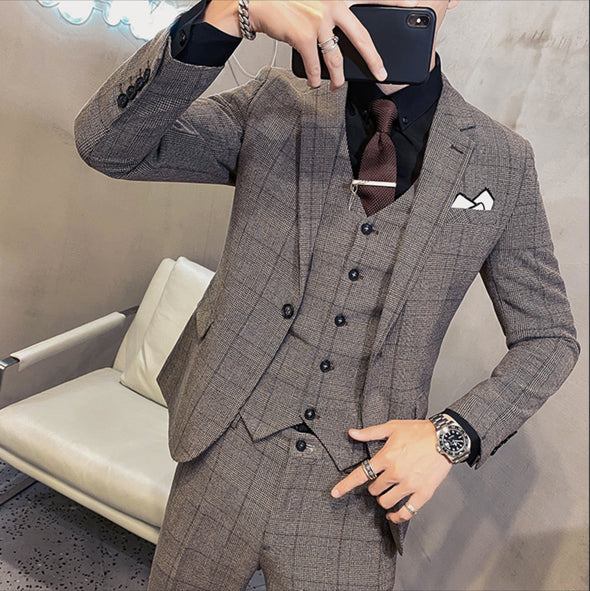 Plaid SUITS JACKET Vel117 - Velmmo