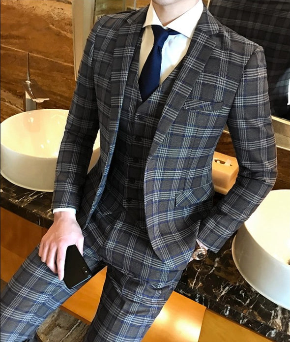 Plaid SUITS SETUP Vel153 - Velmmo
