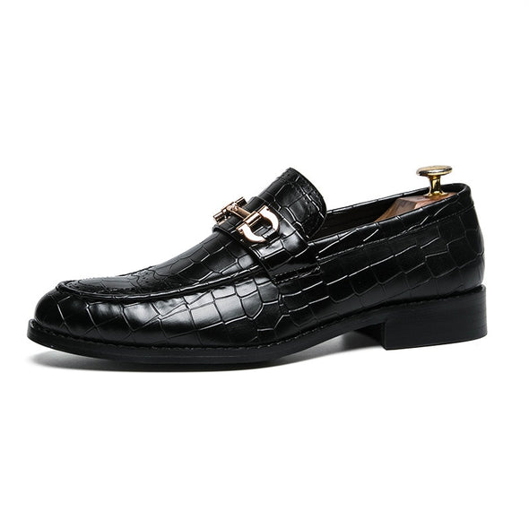 Leather shoes Vel060 - DD;MONOCHROME