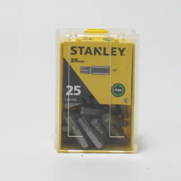 T30 Torx Insert Screwdriver Bits 25mm Box of 25