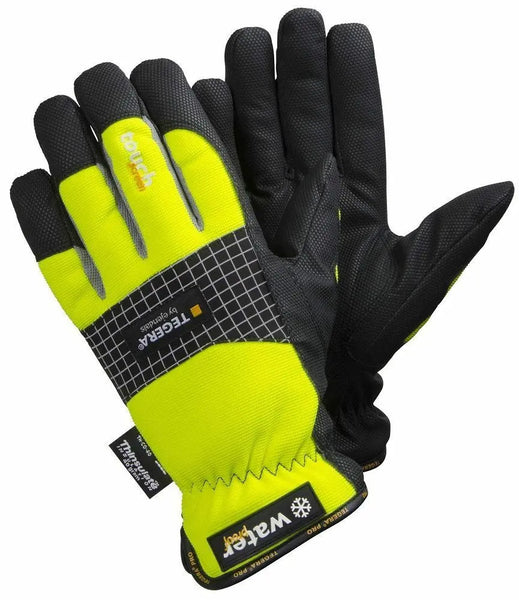 TEGERA 9128 Winter Warm Wind Waterproof Touch Screen Gloves Size 8