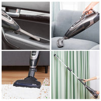 Wireless 3-in-1 Vacuum Cleaner - rechargeable - bag-less