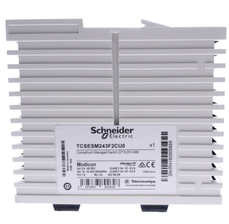 ConneXium Ethernet TCP/IP Managed Switch 22TX/2FX-MM