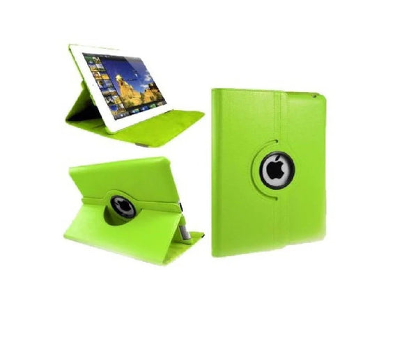 Time2 Green Leather case for Apple iPad 2/3/4