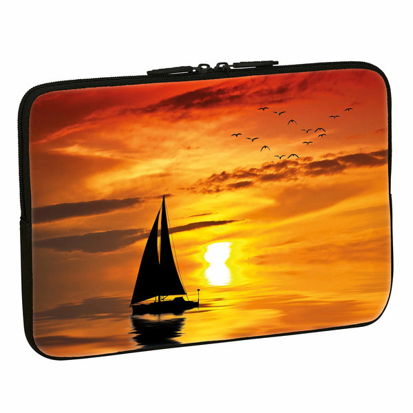 "PEDEA Design Protective Notebook Case 15.6 ""(39.6cm), Ocean Sunset"