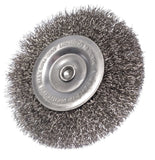 Stainless Steel Round Wire Brush 100 x 16 mm