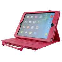 Apexel Case for iPad 5 / iPad Air, with carrying handle and stand function, pink
