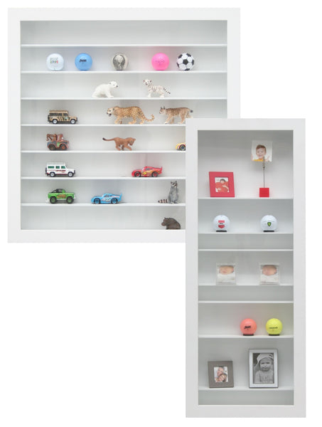Deknudt Frames presentation box in white for all kinds of objects S67RZ1