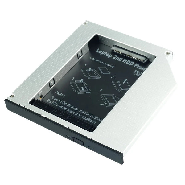 Lindy 20935 Ultra Slim SATA III HDD Caddy - 9.5mm SATA 6Gbit/s