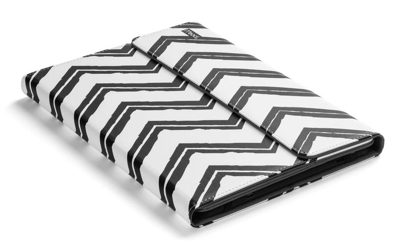 "Kensington Universal Case for 9-10"" Tablets, Black & White Stripes"