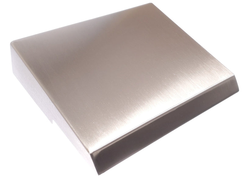 Stainless steel canopy for S3X enclosure 200 x 150 mm