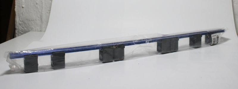 "Socket rail 1"" x 8 pieces with clips"