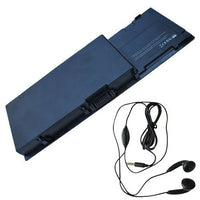Amsahr M6500 Replacement Battery for Dell M6500 - Includes Stereo Earphones