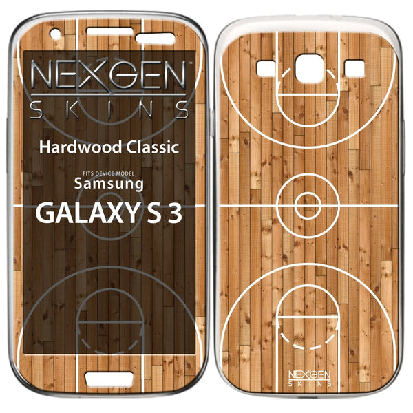 Nexgen Skins GAL30029 - Skin for Samsung Galaxy S3, basketball court