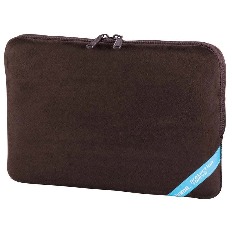 "Hama 101194 Velor Notebook Sleeve case up to 10.2"" brown"