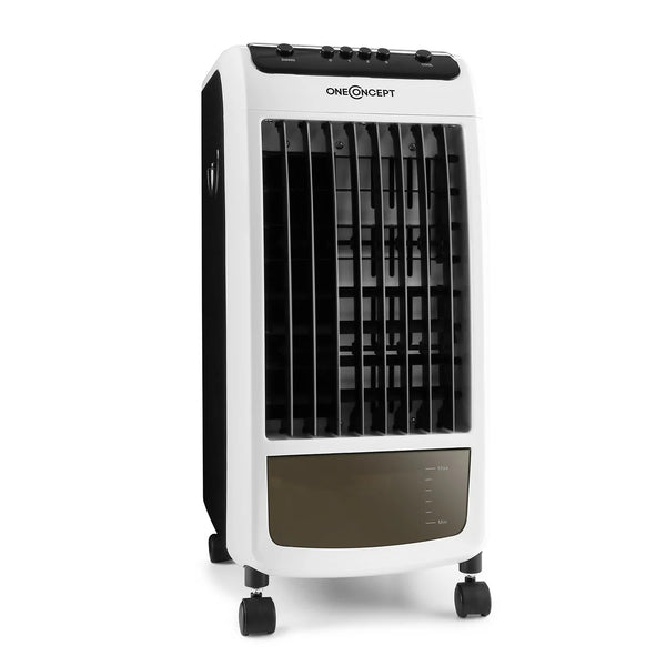 Mobile air conditioning air cooler 3-in-1: fan, air cooler and air freshener in one