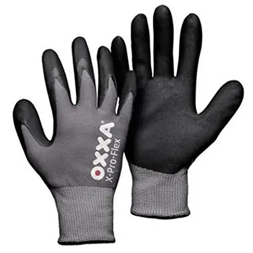 Safety Gloves, Coating on the thumb, finger tips and palm. Size 10 XL