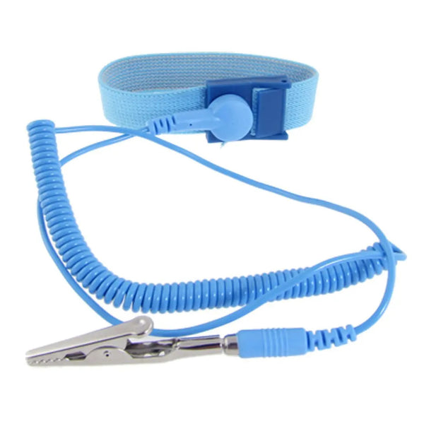 Anti Static Discharge Wrist Band Strap - Blue - 53 cm
