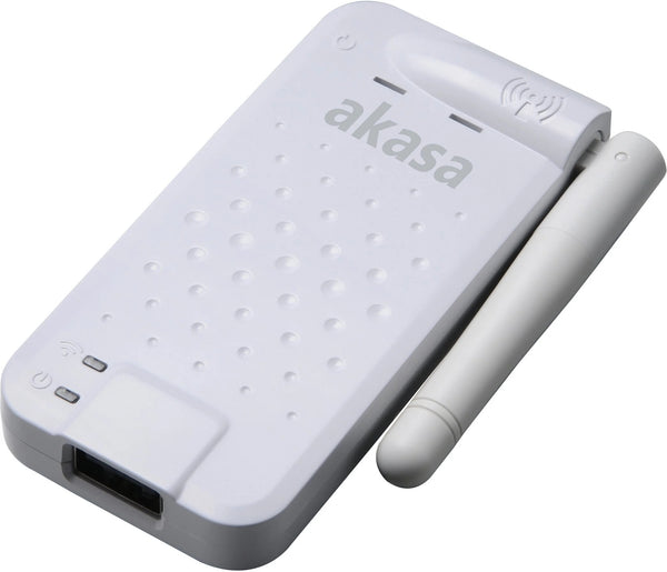 Akasa AK-WFS-01 Wi-Fi Storage Sharer for PC/Mac & Mobile Devices