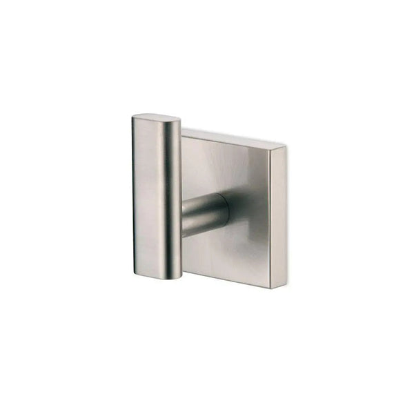 Single Robe Hook in Satin Nickel