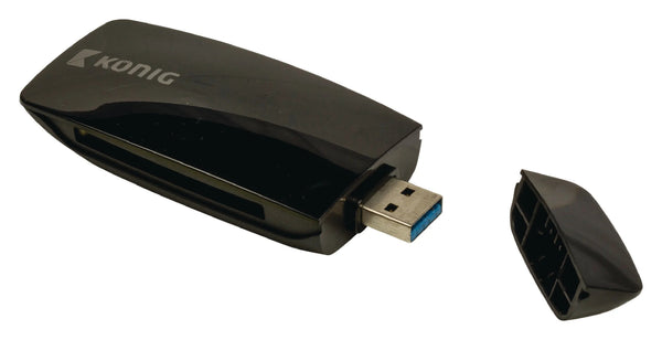 Travel all-in-one memory card reader (USB 3.0)
