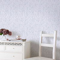 Willamena - lilac, luxury textured vinyl wallpaper, 10.05 x 0.52 m