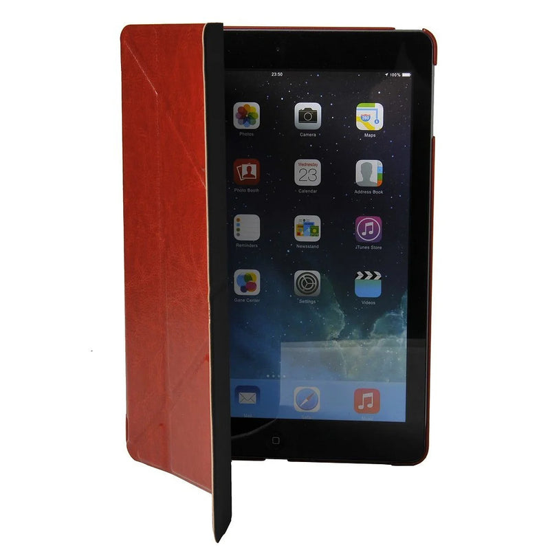 Apexel Crazy Horse Line Faux Leather Flip Case for iPad 5 / iPad Air (with stand function and sleep wake function, magnetic closure)