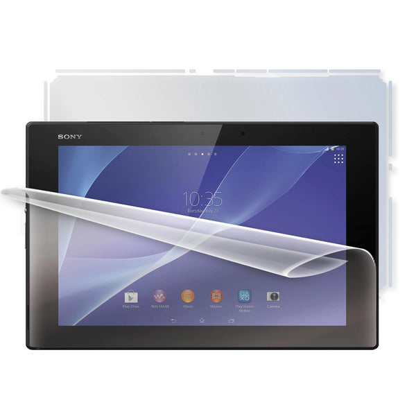 Screenshield SON-XPZ2TAB-B Full Body Protective Film for Sony Xperia Z2 TAB