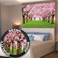 Great Art Cherry Tree Photo Wallpaper Mural