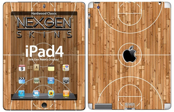 Nexgen Skins IPAD40029 Hardwood Classic 3D Dimensional Skin Case for Apple iPad 2/3/4