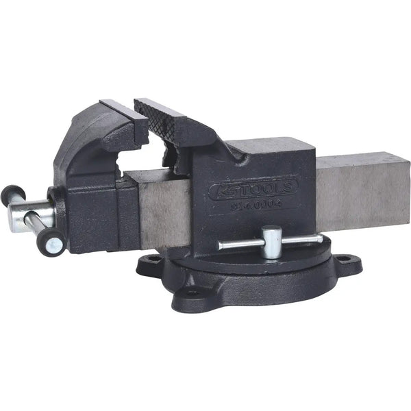Bench vice with swivel base - 120mm jaw length