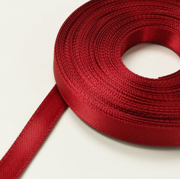 Ribbon, double faced satin, 6mm 100% Polyester