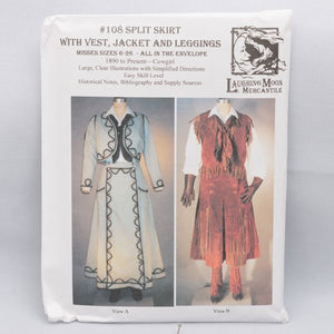 pattern, Cowgirl - 1890's