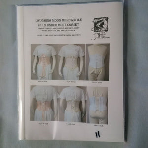 pattern, Underbust corset, men's & womens