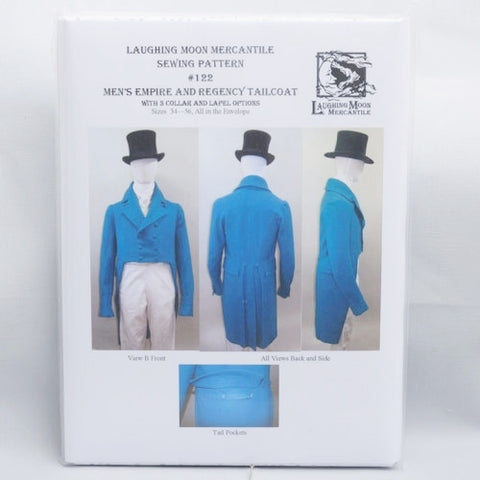 pattern, Men's Empire and Regency Tailcoat