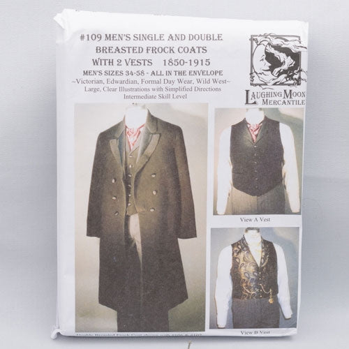 pattern, Victorian/Edwardian men's Frock Coat