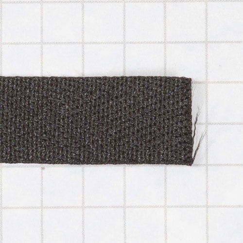 twill tape, poly 13 mm (black)