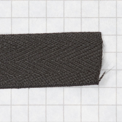 twill tape, poly 19 mm black