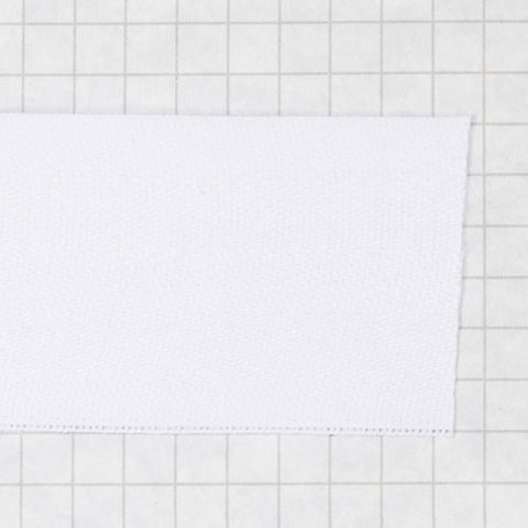 twill tape, poly 38 mm natural (white)