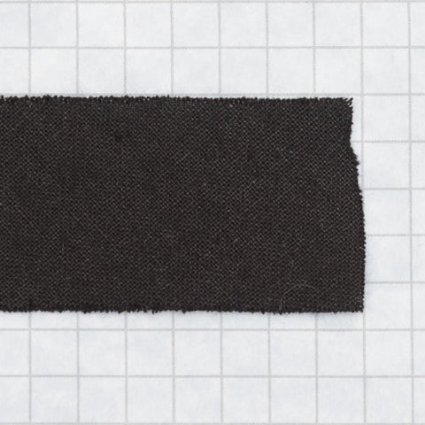 Bias tape 100% cotton 1 inch (25mm) black